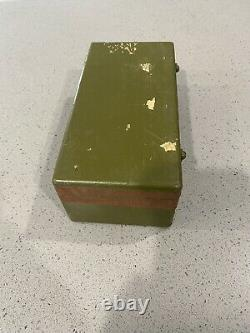 Wwii Nos Military Surplus The Ch Hanson Co Marking Outfit For Stamping Metal Set