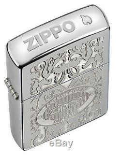 Zippo American Classic Windproof Lighter With Crown Stamp, # 24751, New In Box